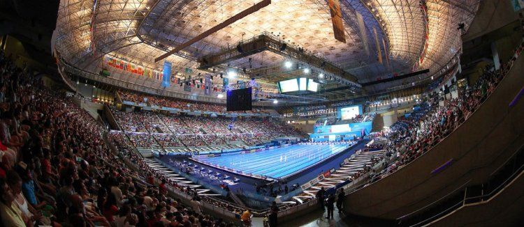 InThePool system was installed in the main swimming pool at the Palau Sant Jordi